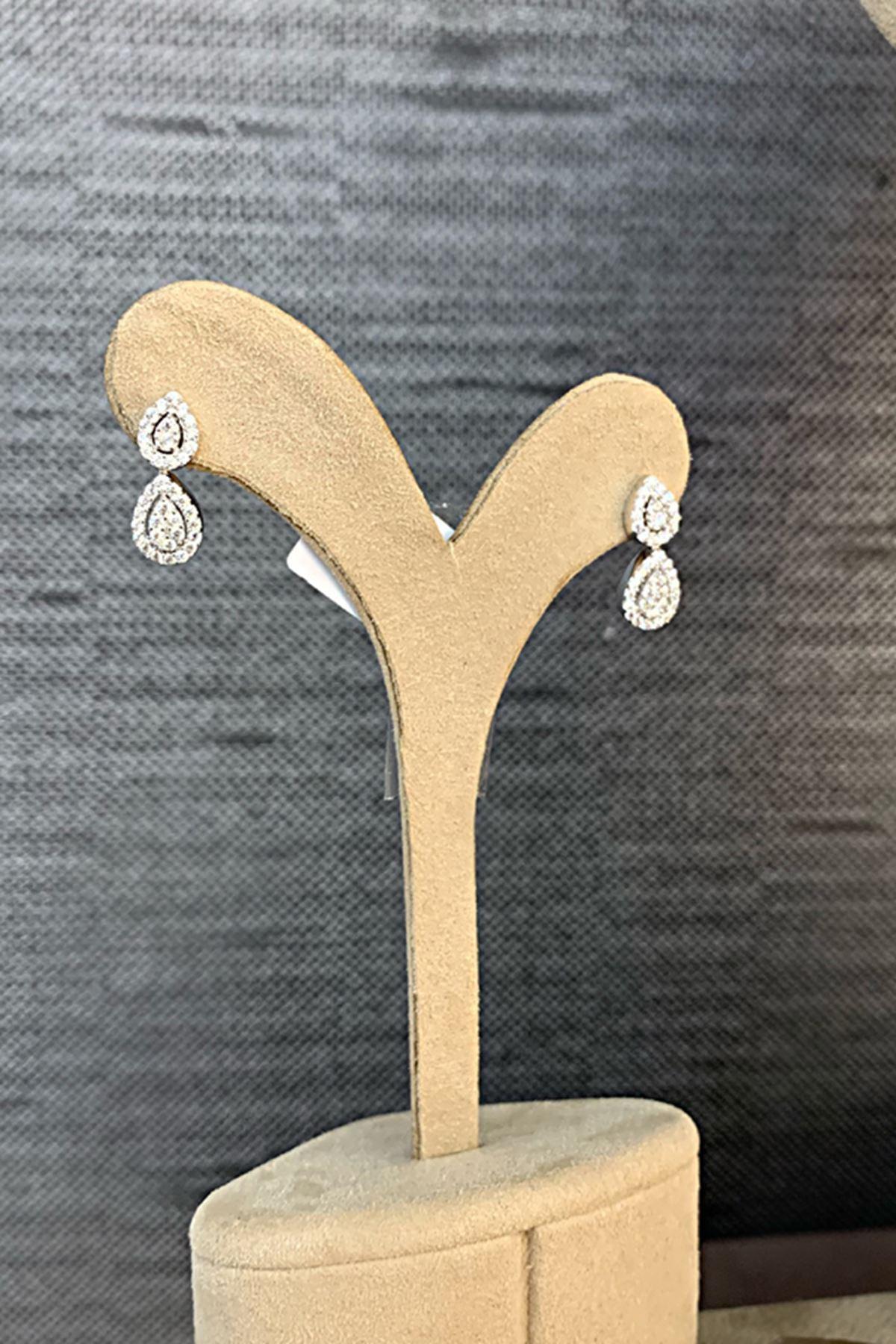Pırlanta Montörlü Altın Düğün Takı Seti SET0007