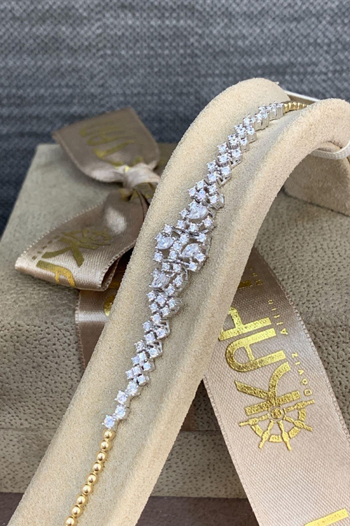 Pırlanta Montörlü Altın Düğün Takı Seti SET0013