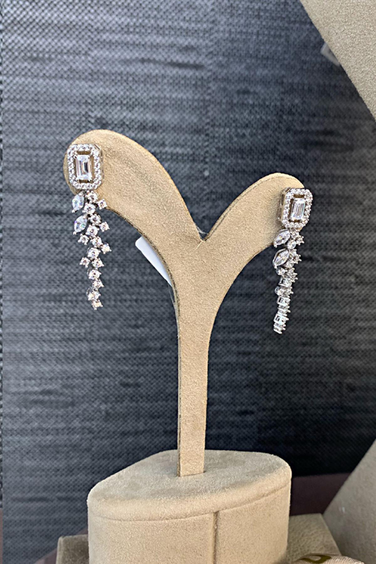 Pırlanta Montörlü Baget Altın Düğün Takı Seti SET0012