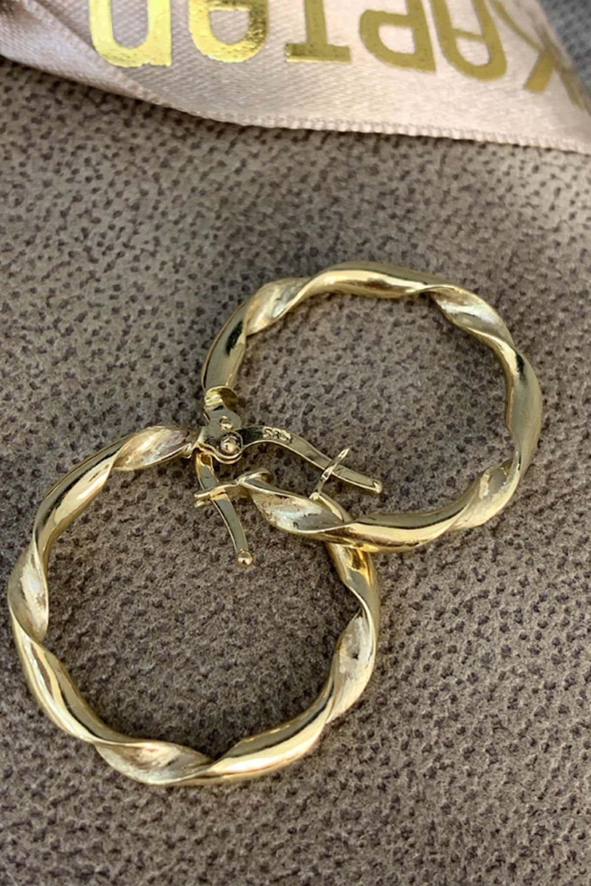Halka Altın Küpe KP0067
