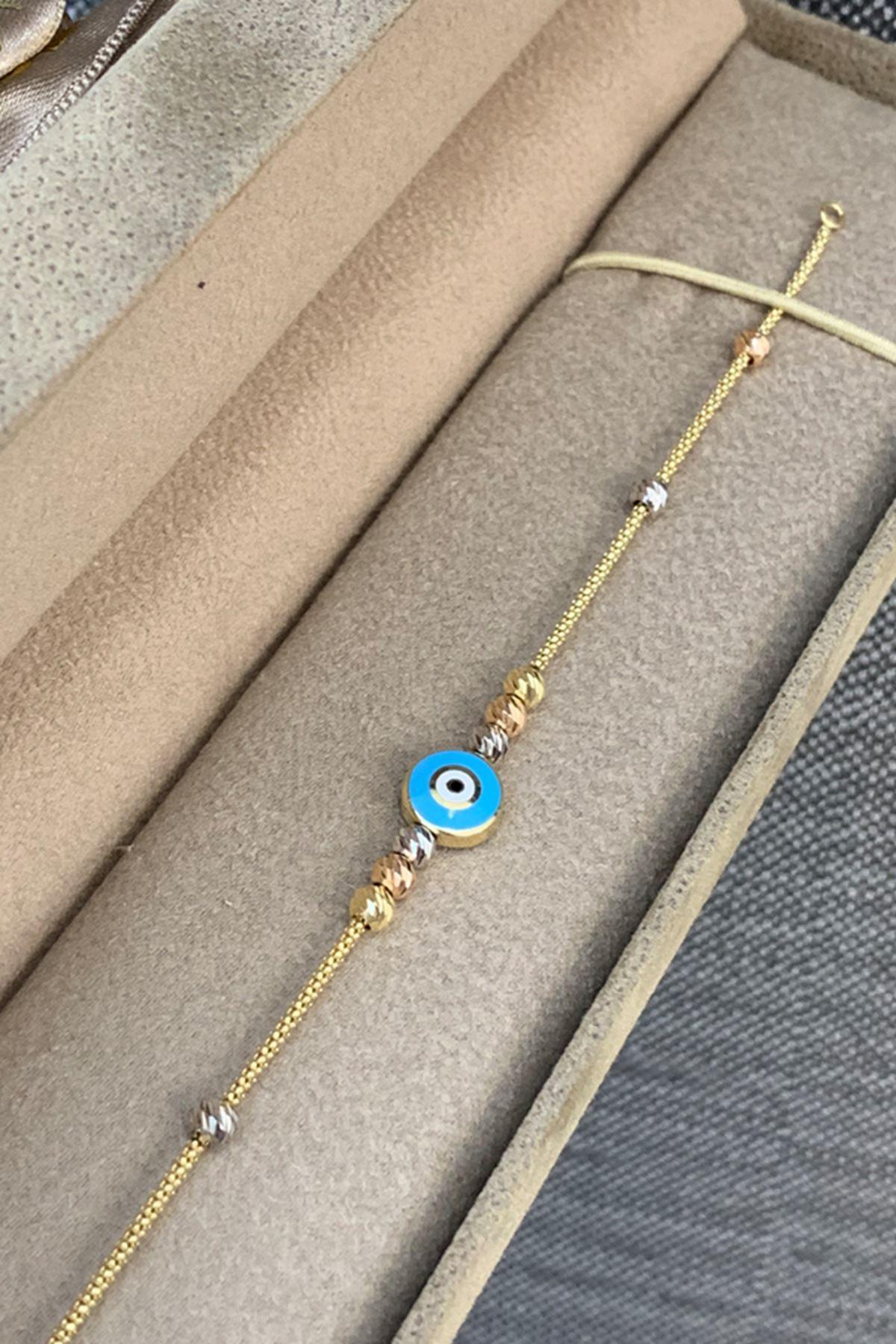 Mavi Gözlü Bileklik Y00150