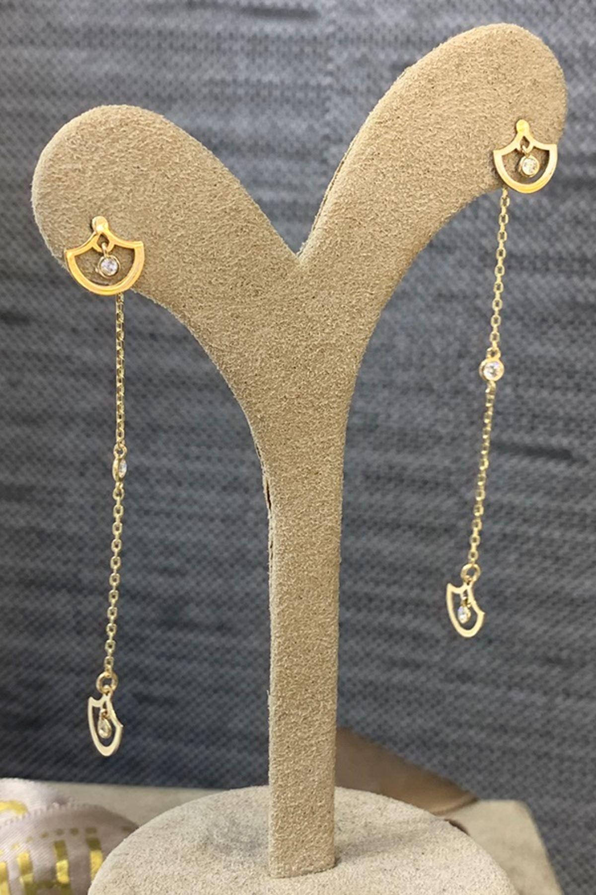 Altın Küpe Y00445