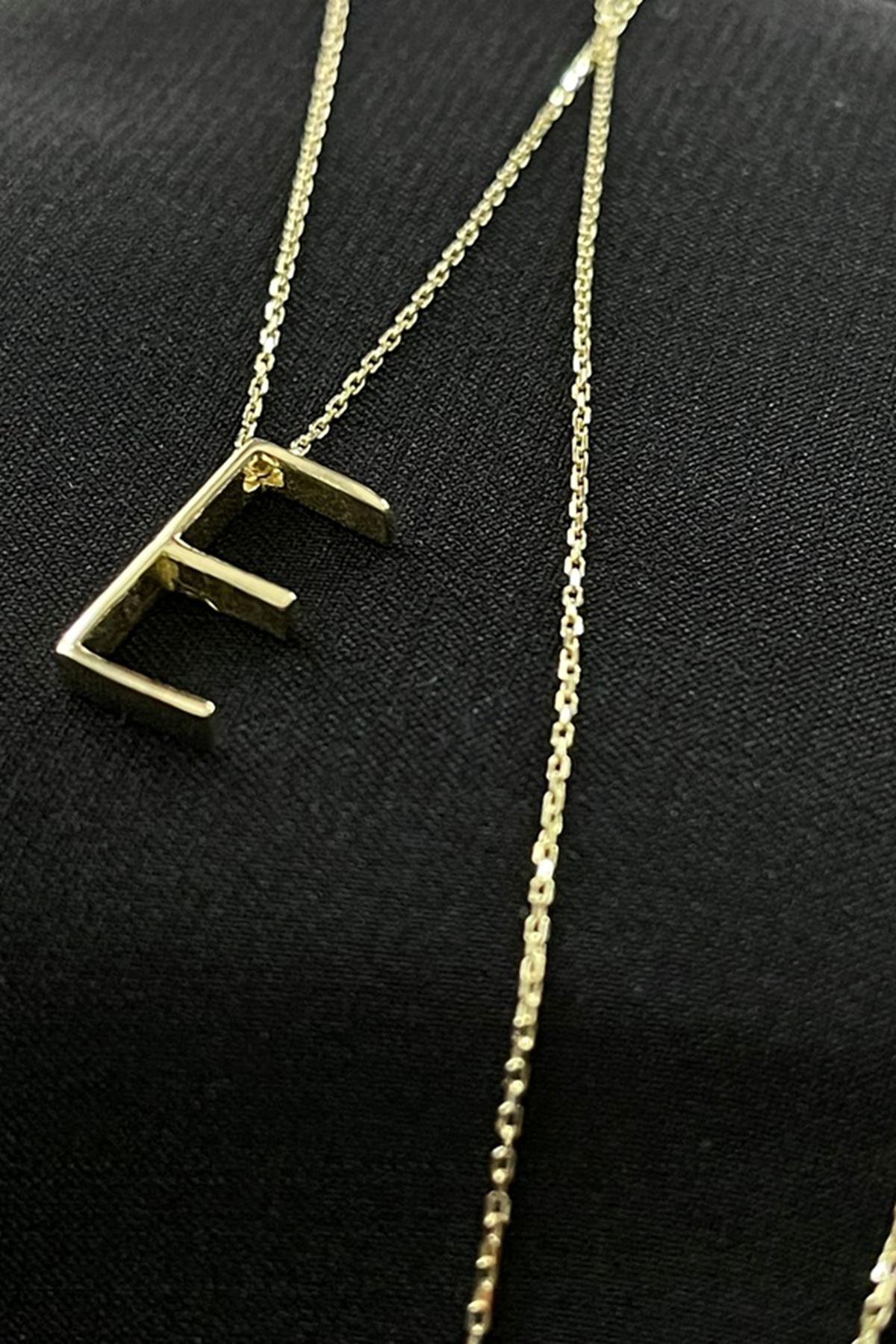 Minimal Harf Kolye KL0236