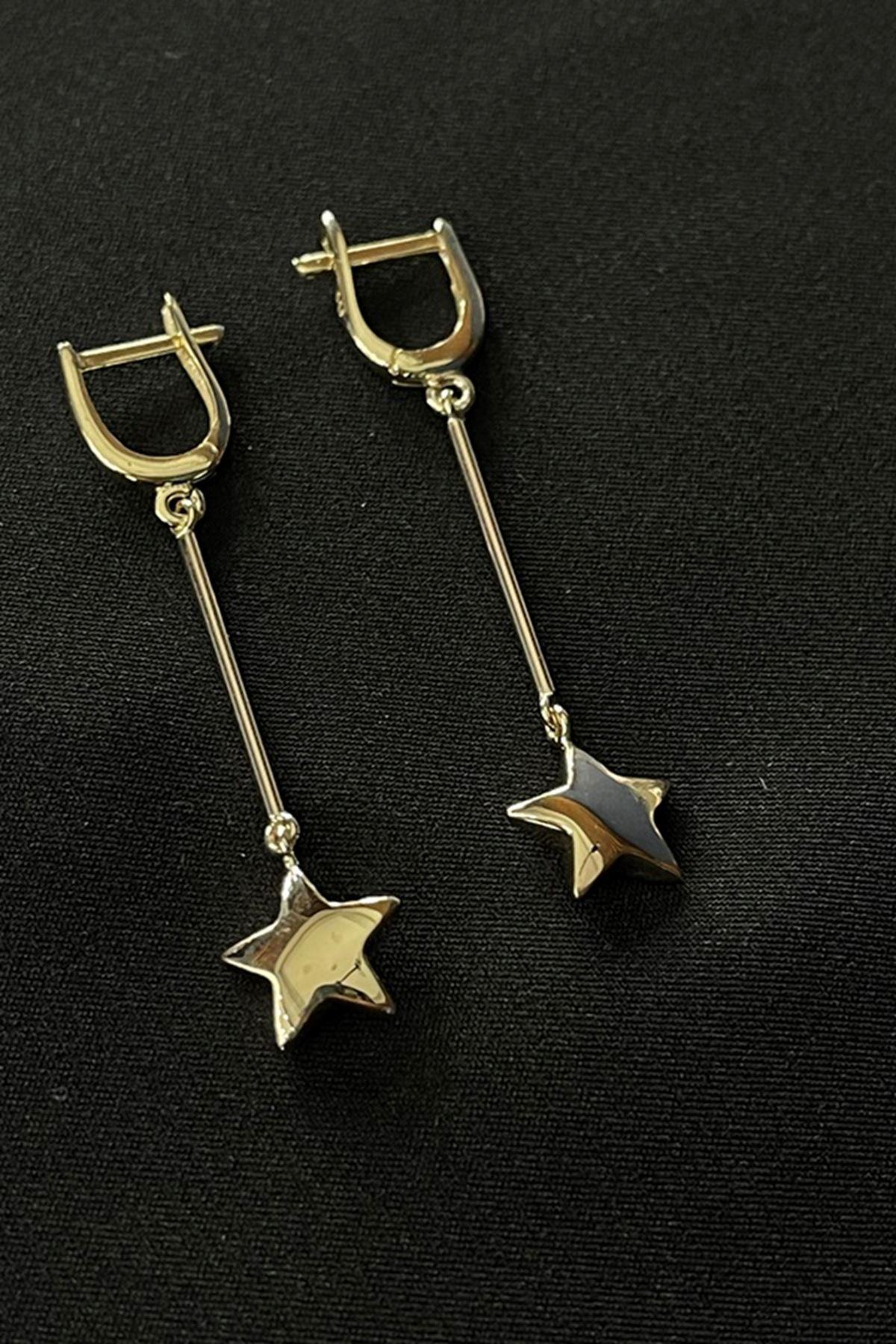 Yıldız Sallantılı Küpe KP0102