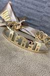 İsim Yazılı Taşlı Altın Bilezik Y00017